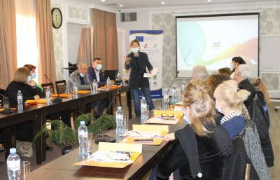 Training for the CSOs of 8 municipalities