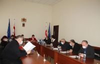 Activity of the working group in Bagdati